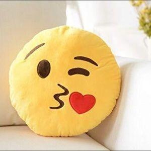 Other - Emoji Kiss Pillow